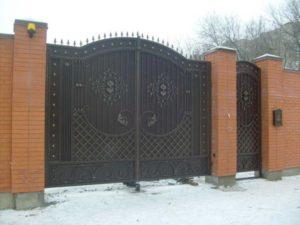 Кованые ворота как заказать