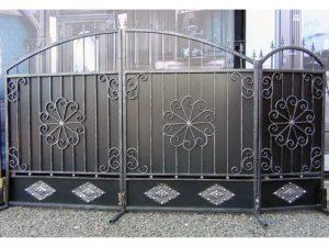 Кованые ворота 7600 кв.м. Как заказать