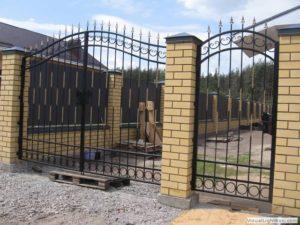 Кованые ворота 4500р.кв.м. Как заказать