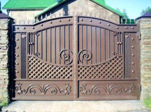 Кованые ворота 8100 кв.м. Как заказать